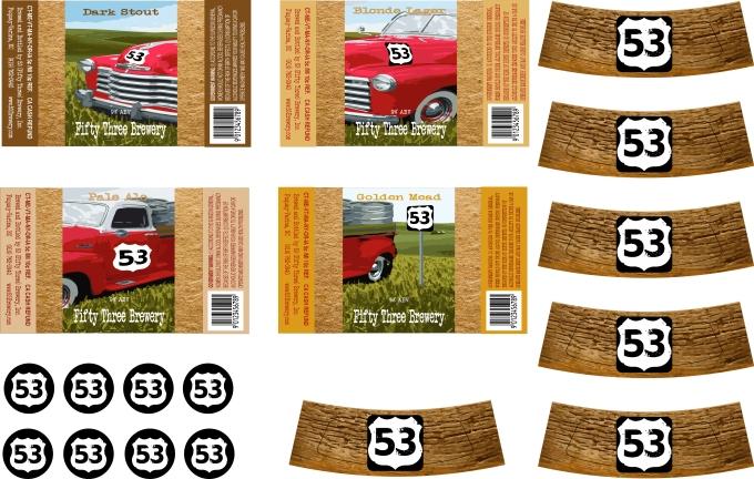 53 Labels